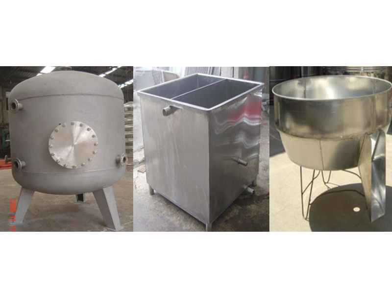 Stainless steel various shapes water tank